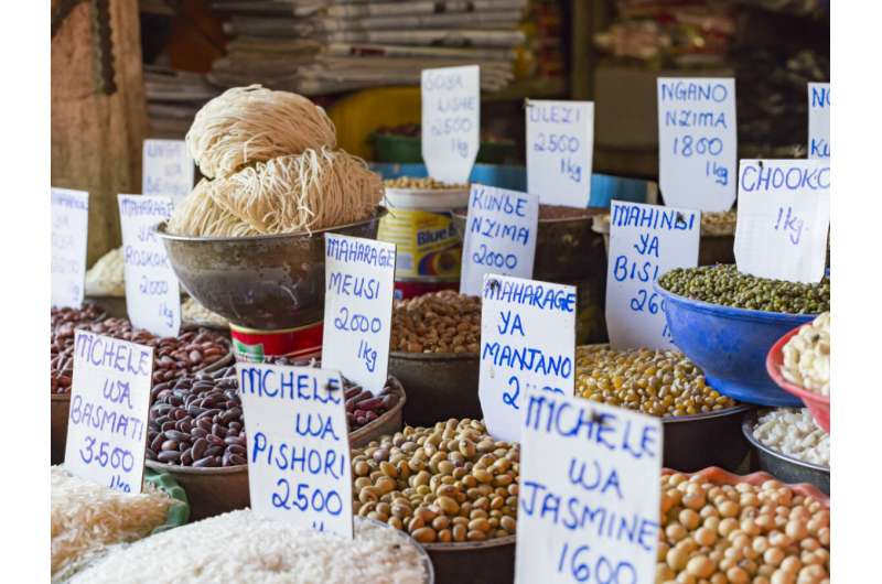 Study in Tanzania shows a traditional diet causes less inflammation