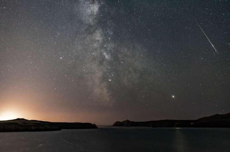 Summer stargazing treat as Perseid meteor shower reaches its peak