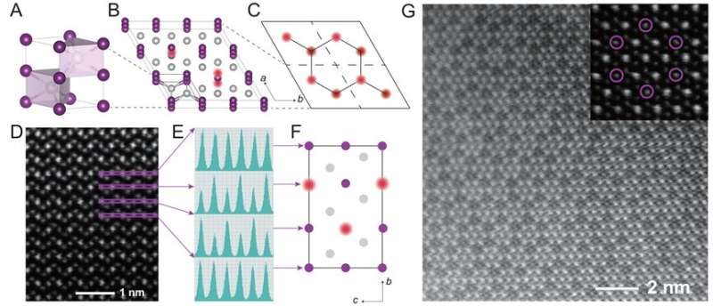 Superconductivity from buckled-honeycomb-vacancy ordering