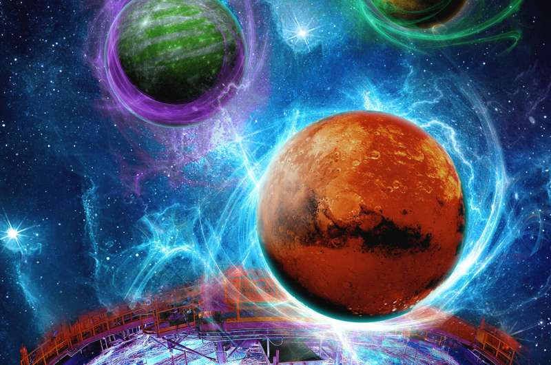 Super-Earth atmospheres probed at Sandia's Z machine
