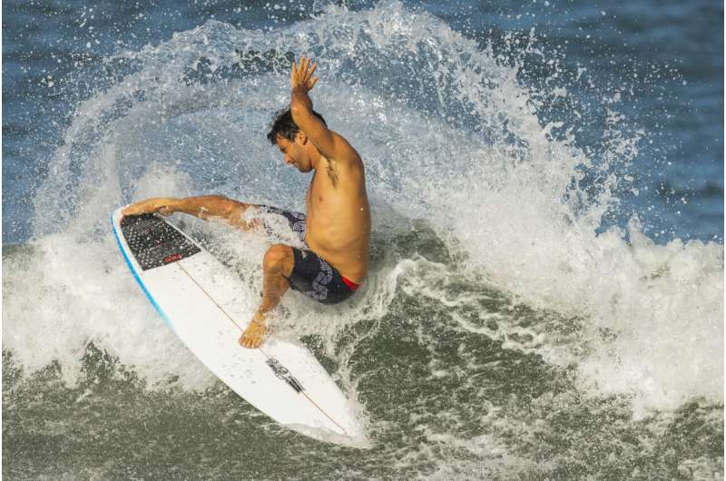 Surfing science: Dependent on weather, defined by the ocean