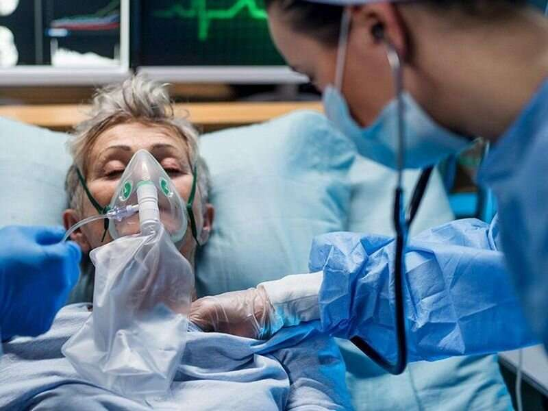 Surges in hospital caseload tied to higher COVID-19 mortality