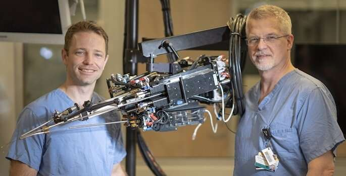 Surgical robots could make radical prostatectomy safer and less invasive