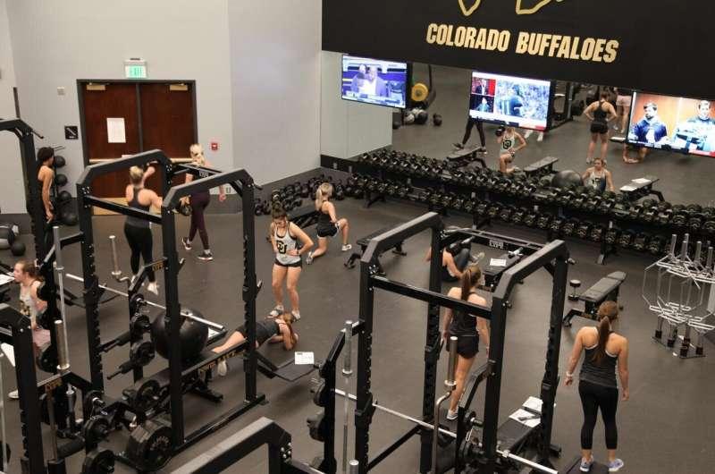 Sweat, bleach and gym air quality
