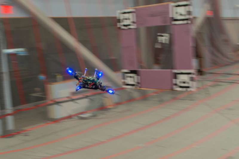System trains drones to fly around obstacles at high speeds