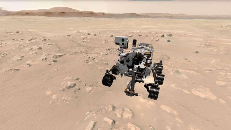 Fai un giro in 3D su Marte e segui il rover della NASA