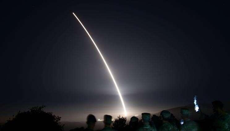 Team captures data from unarmed Minuteman III test launch