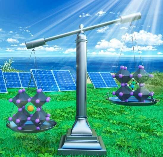 Team demonstrates great promise of all-inorganic perovskite solar cells for improving solar cell efficiency