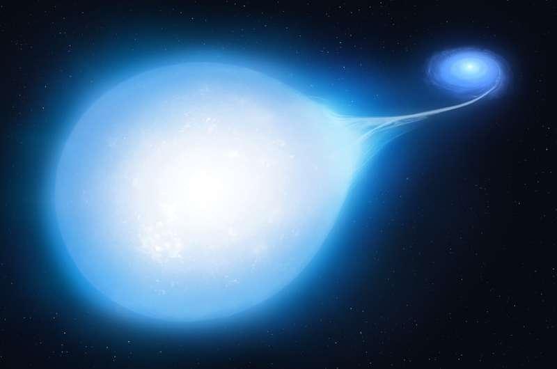 Teardrop star reveals hidden supernova doom Teardrop-star-reveals