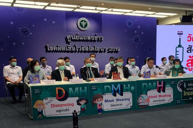Thai health officials announced the rollout of the AstraZeneca vaccine would be delayed
