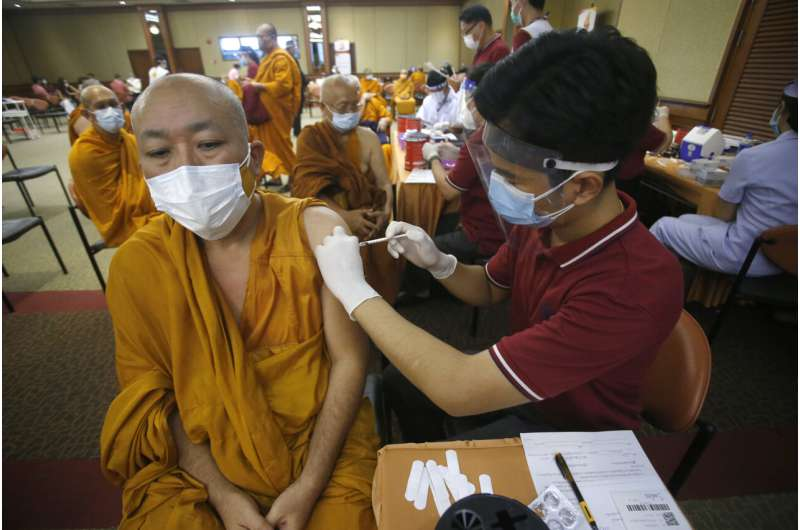 Thailand reports 1st cases of Indian coronavirus variant