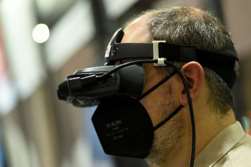 The augmented reality glasses can provide information on objects