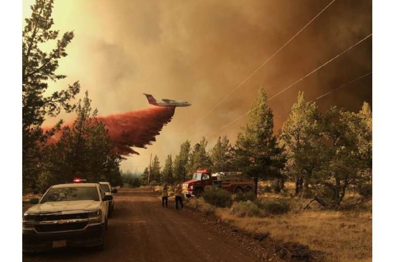 The Bootleg Fire in Oregon has scorched almost 390,000 acres—an area bigger than Los Angeles