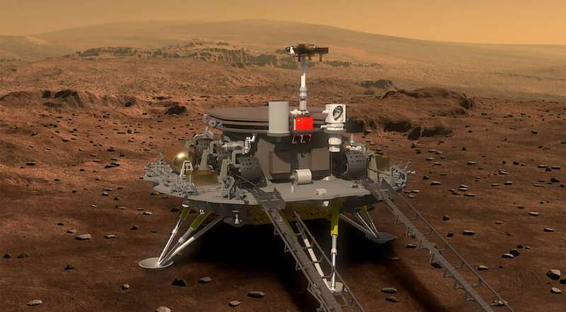 The Chinese Mars lander: How Zhurong will attempt to touch down on the red planet