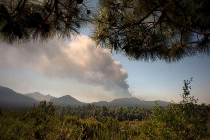 El volcán Cumbre Vieja comenzó a entrar en erupción el 19 de septiembre