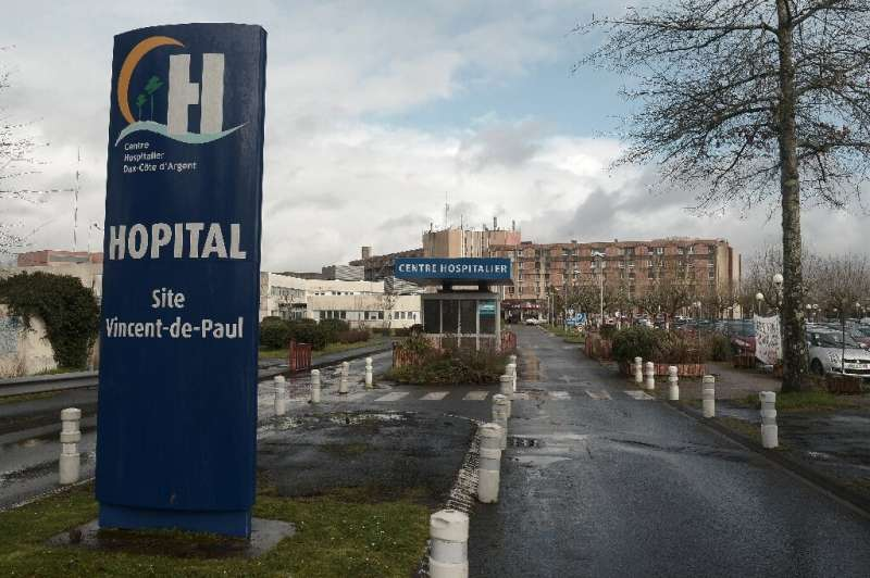 The Dax hospital in southwest France employs 2,200 people