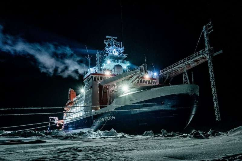 The expedition ship Polarstern spent hundreds of days drifting through the Arctic