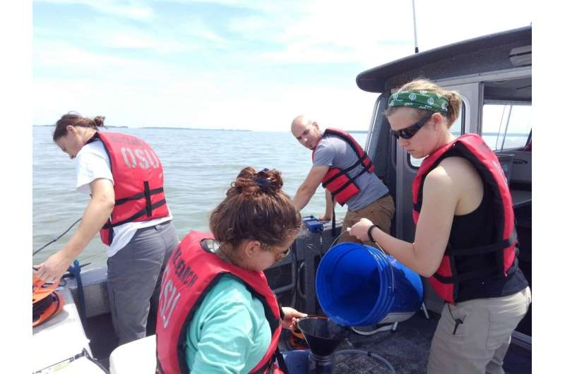 The first real snapshot of algal bloom toxins in Lake Erie