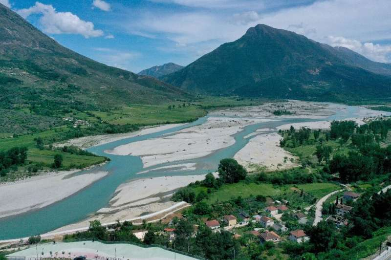 The immediate concern for the Vjosa river is a plan to build a 50-meter high hydroelectric dam