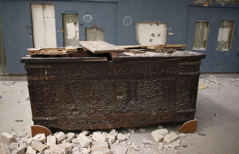 The Islamic State group's occupation of the ancient Iraqi city of Mosul was marked by iconic images of damage to priceless artef