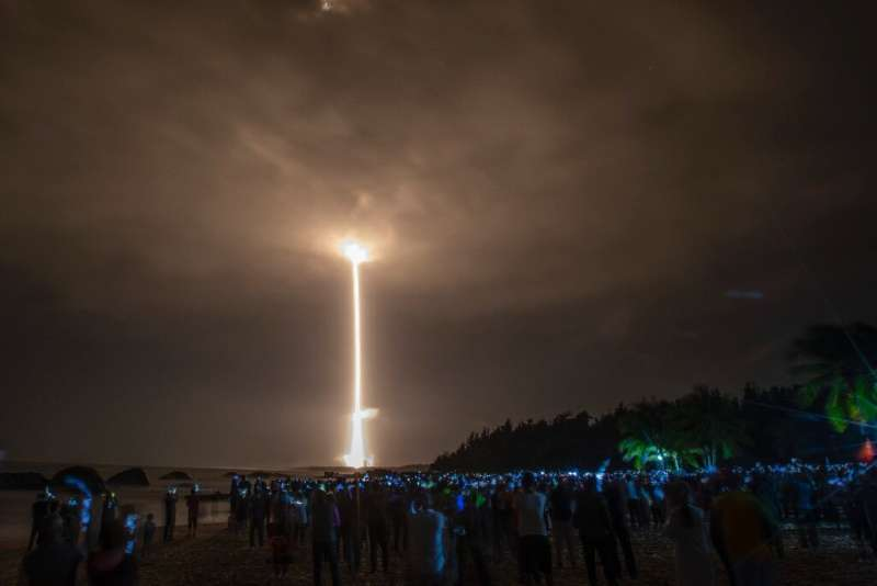 The launch of a rocket carrying China's Chang'e-5 lunar probe underlined how much progress Beijing had made towards its 'space d