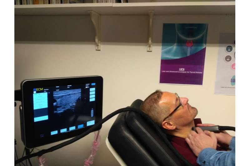 The LUCA device proves its readiness for a better thyroid cancer screening
