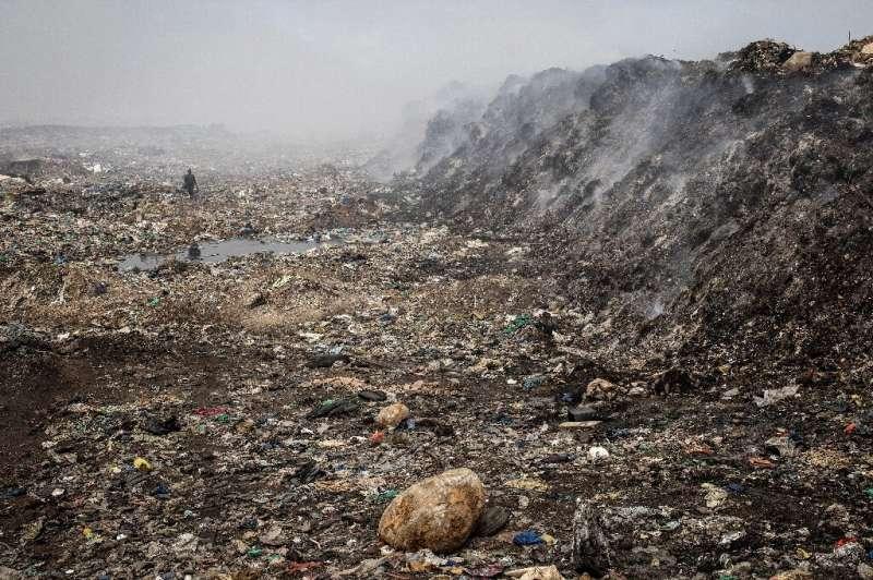 The Mbeubeuss landfill has a notorious reputation as an environmental hazard
