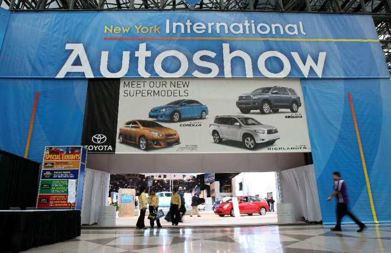 The New York International Auto Show canceled its 2021 show, citing the latest Covid-19 trends