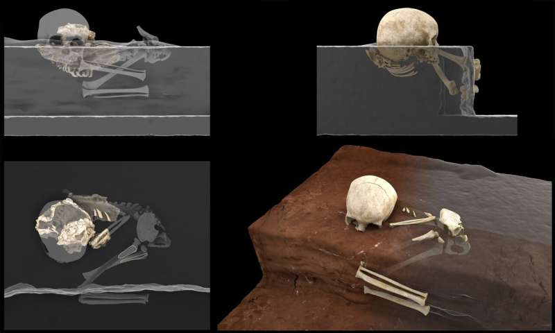 The oldest human burial in Africa