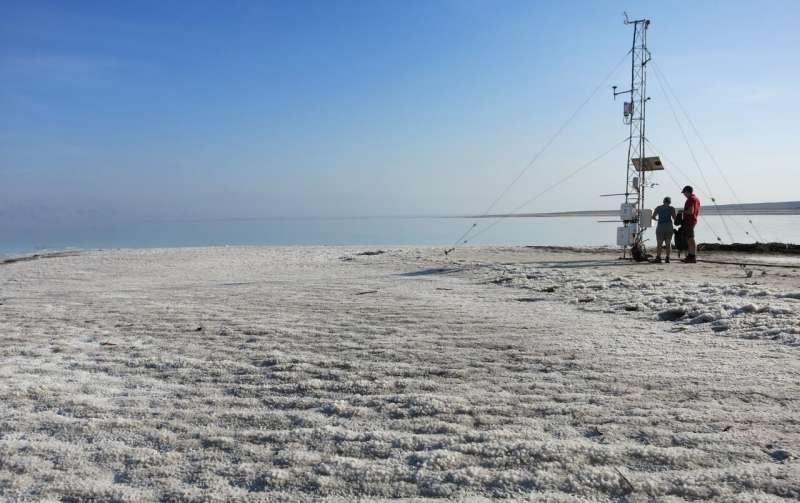 The pulse of the Dead Sea