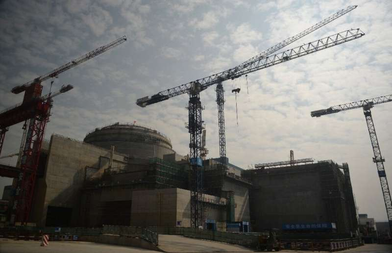 The reactor is located successful  Taishan successful  China's confederate  Guangdong province, not acold   from Hong Kong