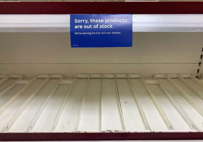 The shortage of lorry drivers has left many supermarkets and shops unable to restock