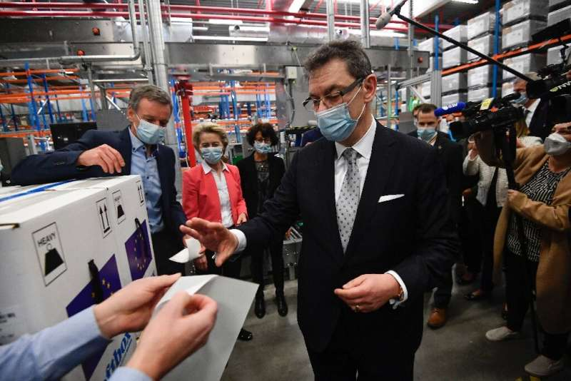 The vaccine developed by Pfizer and Germany's BioNTech is already a mainstay in Europe's efforts to control the pandemic