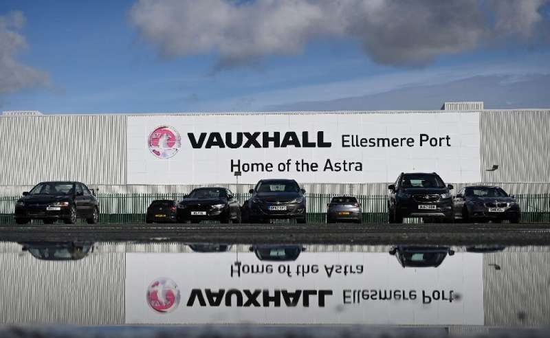The Vauxhall manufacturing plant at Ellesmere Port in northwest England is getting a new lease on life with the production of ba