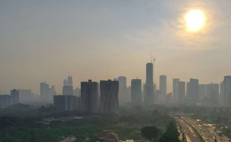 The WHO said air pollution was as damaging to human health as smoking and unhealthy eating