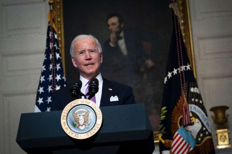 The Biden administration has drafted an order imposing a moratorium on oil and gas auctions on federal land and water, according