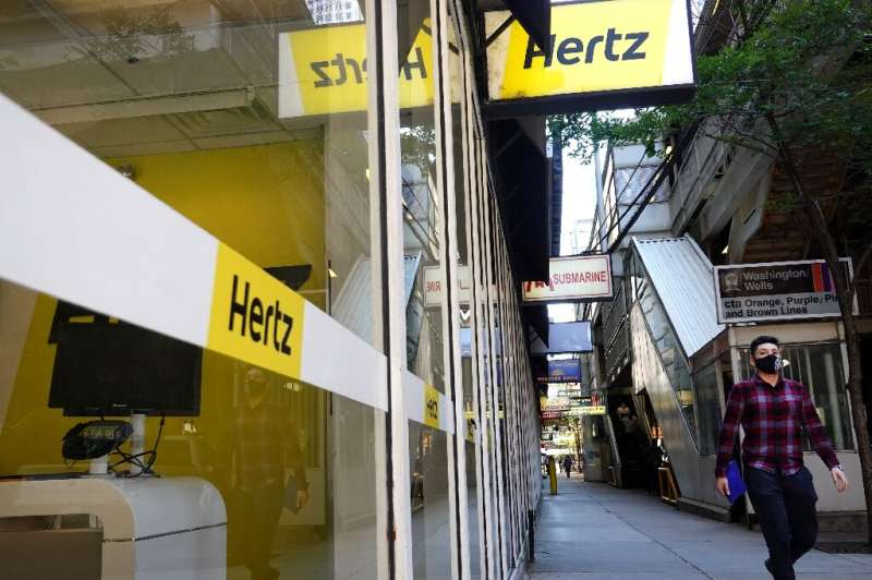 The Covid-19 pandemic and ensuing drop in travel demand hit Hertz's business, pushing it into bankruptcy