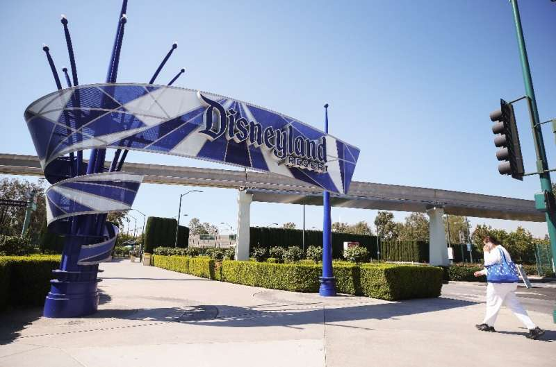 The first few hundred patients lucky drove up to Disneyland in California, where over-65s and health care workers are being inoc