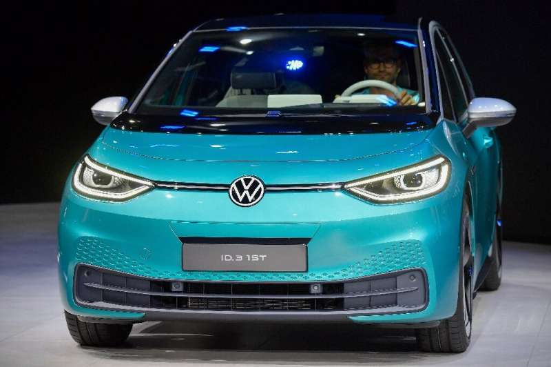 The ID.3 is VW's first electric car built on a platform especially designed for electric vehicles