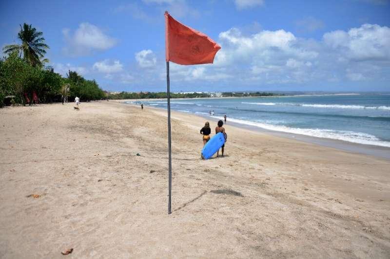 Pulau peristirahatan Indonesia di Bali adalah lokasi populer lainnya bagi perantau digital