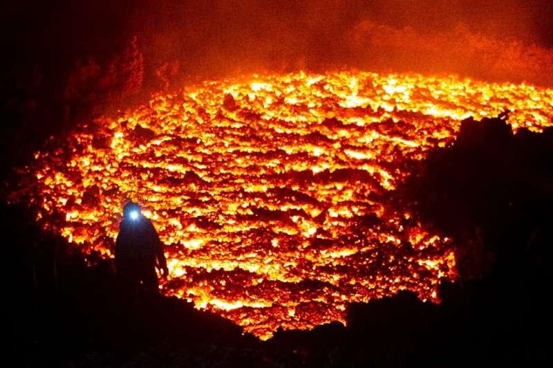 The Klyuchevskaya Sopka on Kamchatka, a volcanic peninsula in Russia's Far East, is the tallest volcano in Eurasia at 4,750 metr