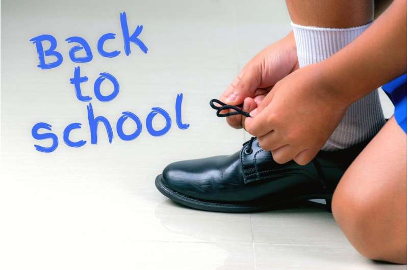 The perfect fit: A 'shoe-in' for a great start to school