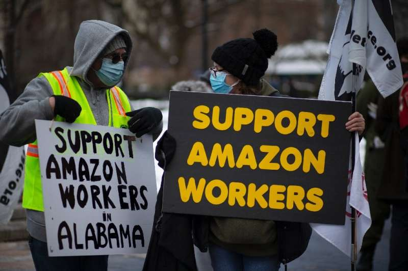 There have been a series of protests around the United States on safety and working conditions at Amazon, with the pandemic incr
