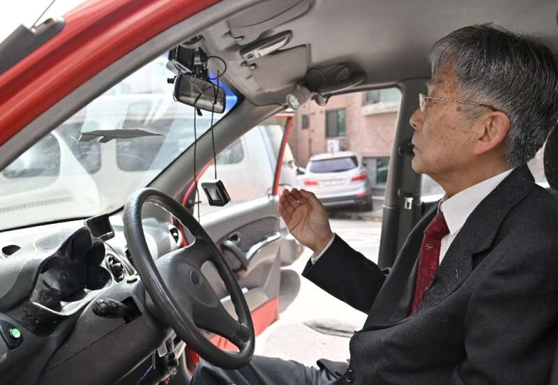 The South Korean government did not see investment potential in Han Min-hong's autonomous driving car and cut funding to his res