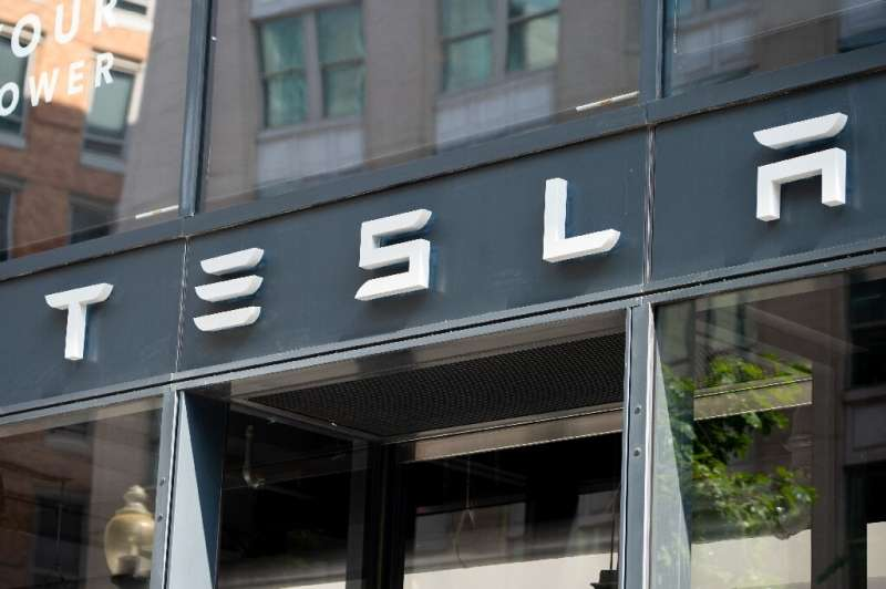 The surge in Tesla's share price means the company is worth more than General Motors, Ford, Toyota, Honda, Fiat Chrysler and Vol