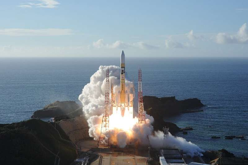 "The UAE's ""Hope"" probe, the first Arab space mission, expected to reach Mars' orbit on Tuesday, blasted off from Japan"