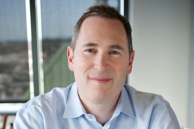 This undated handout image courtesy of Amazon shows Andy Jassy, CEO of Amazon Web Services, who will become CEO of the US tech g