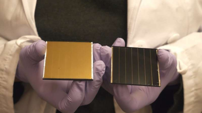 How does chlorine stabilize next-generation solar cells at the atomic scale?