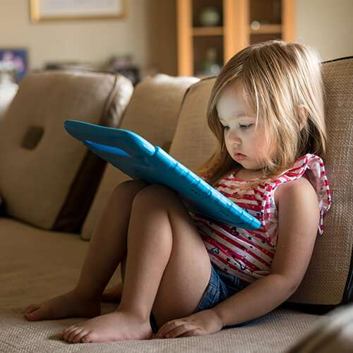 Too much screen time delays school readiness