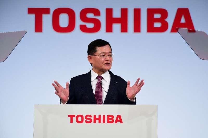 Toshiba's president and CEO Nobuaki Kurumatani has resigned, as a buyout offer reportedly stirs turmoil inside the company